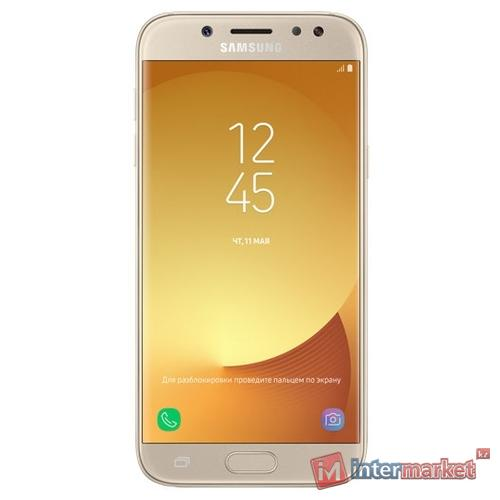 Смартфон Samsung Galaxy J5 (2017) 16GB, Gold