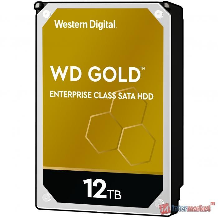 Жесткий диск WD GOLD WD121KRYZ 12ТБ 3,5